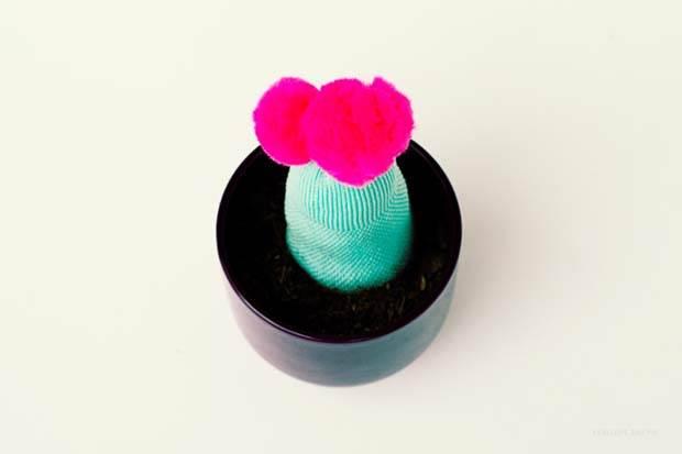 Sock Cactus Finished 2