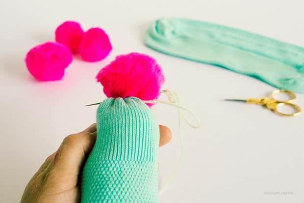 Sock Cactus Step 5