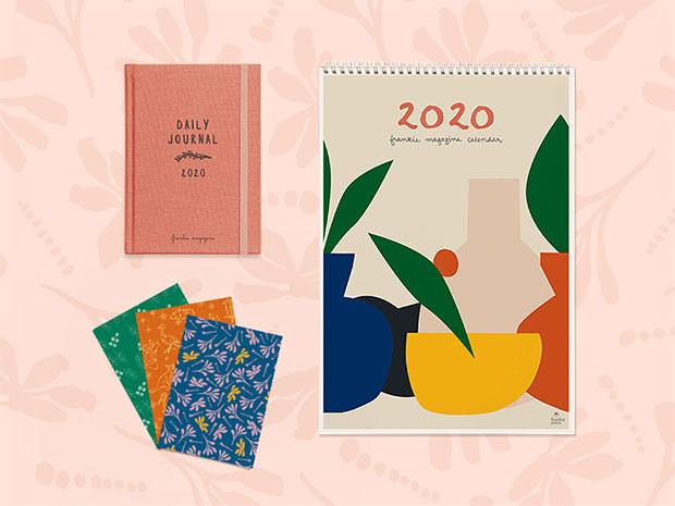 diary and calendar pre order frankie