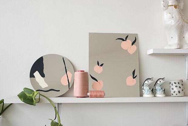 diy painted mirror frankie inside1
