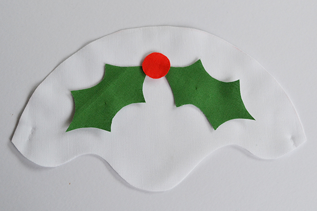 frankie diy christmas pudding trivet 5