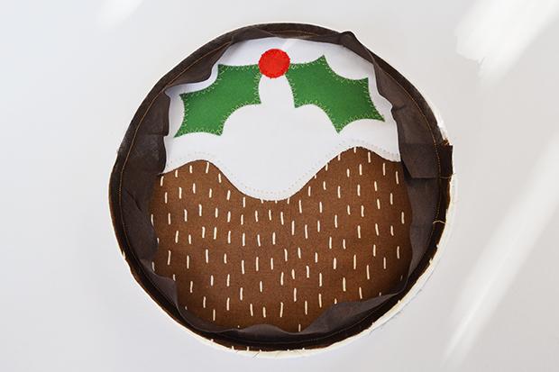 frankie diy christmas pudding trivet 9