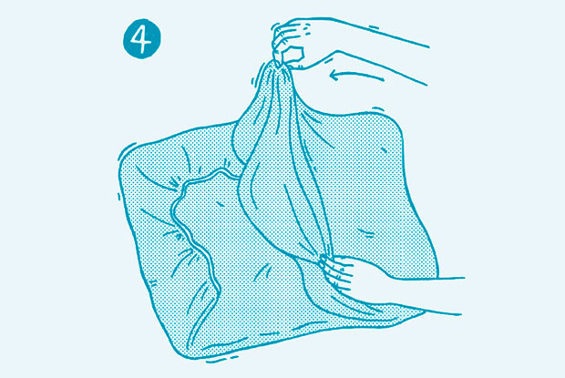 how to fold a fitted sheet step 4 frankie
