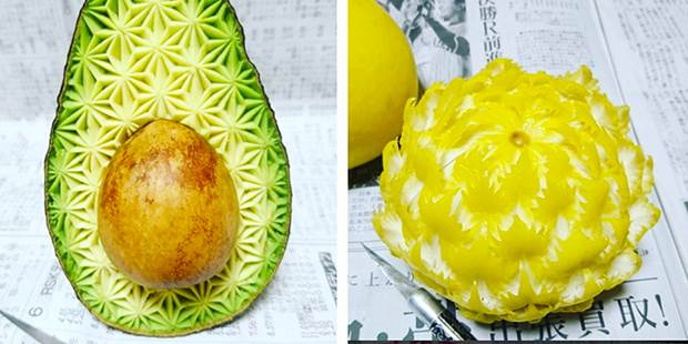 japanese fruit carvings 5