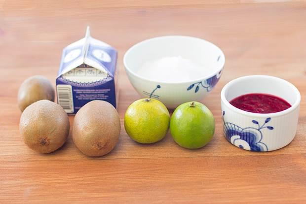 kiwi raspberry torte 8