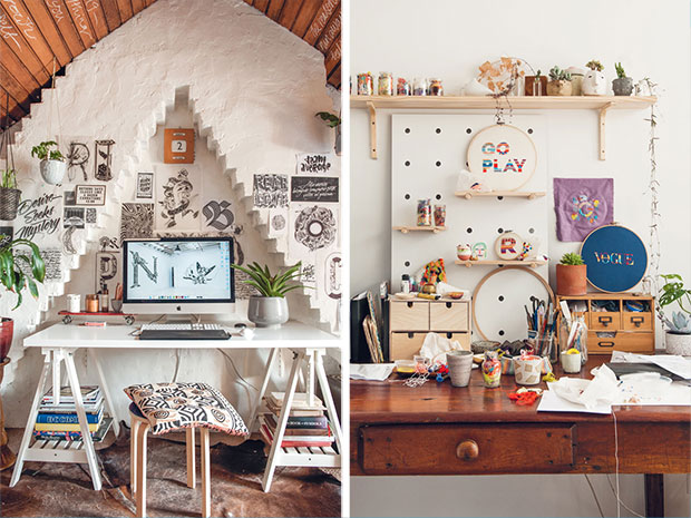 look what we made creative space desk inspiration 3