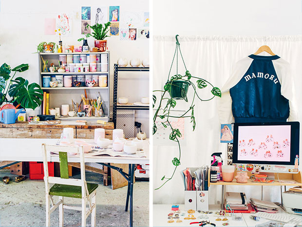 look what we made creative space desk inspiration 4