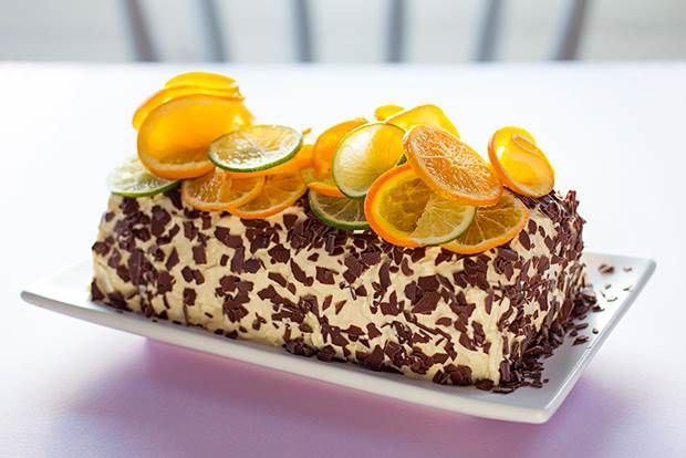 orange stacker cake 1
