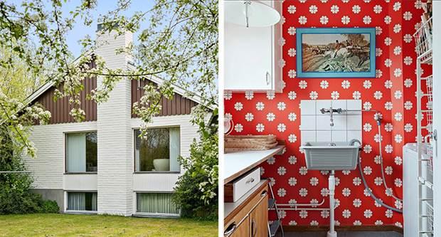 vintage swedish interiors 1
