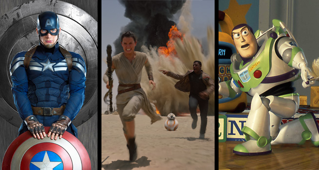 Captain America, Star Wars and Disney Theme Parks!