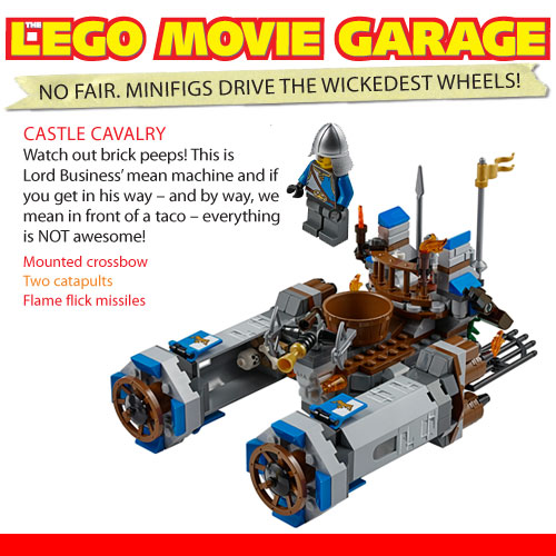 Cars From The Lego Movie K Zone