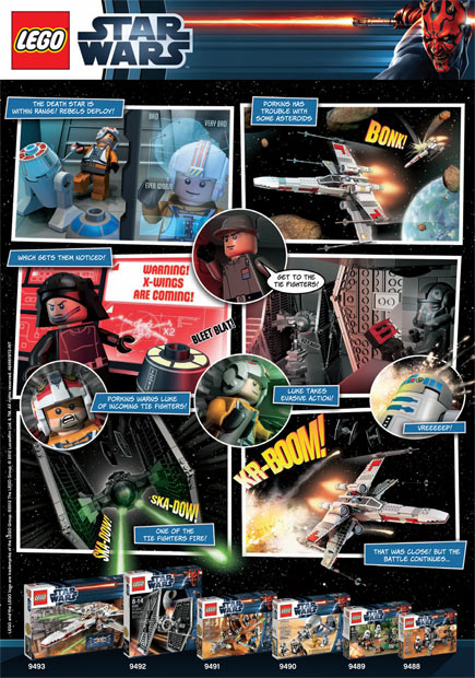 Download your LEGO Star Wars Web Comic