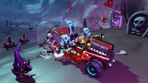 Frightful Fiesta vehicle