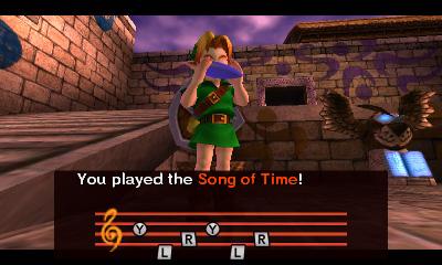 The Legend of Zelda Majora's Mask Song Of Time