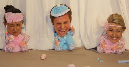 The Saturday Disney crew as babies!