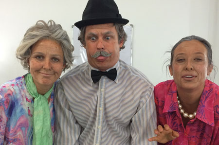 The Saturday Disney crew as old people!