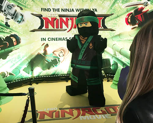 A LEGO Ninjago ninja