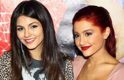 Ariana Grande and Victoria Justice