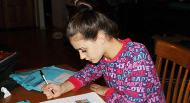 Ballerina: we do homework too!