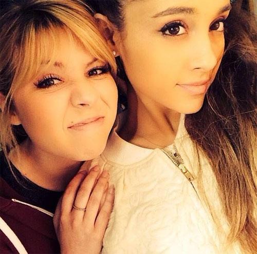 Celeb Best Friends: Jennette McCurdy and Ariana Grande. Photo: Facebook