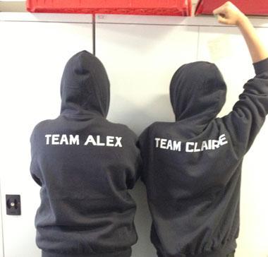 Claire vs Alex! Who will you pick?