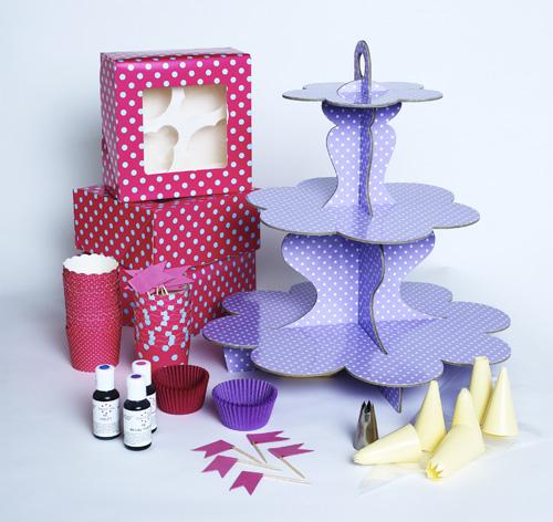 The ultimate cupcake kit