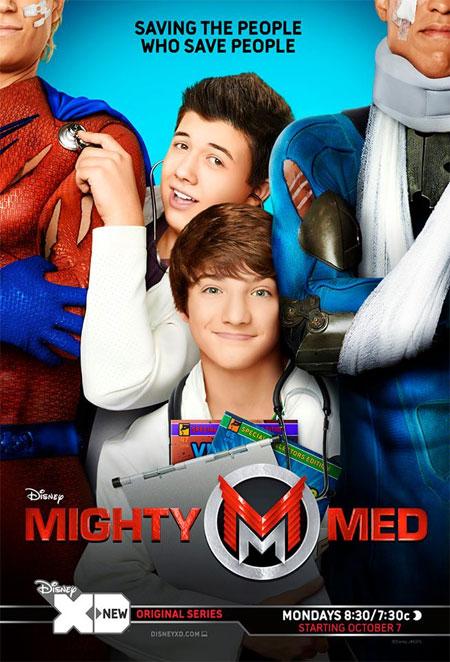 Disney's 'Mighty Med'. Photo: Facebook