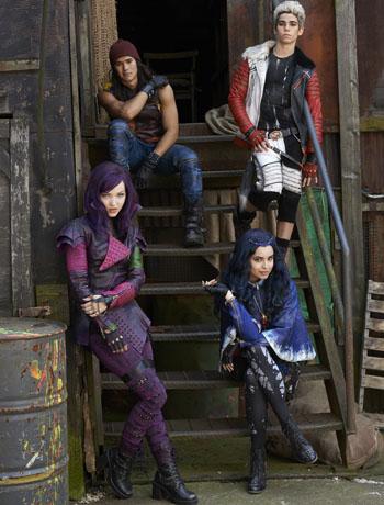 Disney Descendants four characters