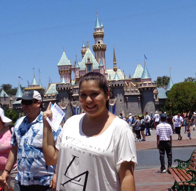 Disneyland's Magic Kingdom