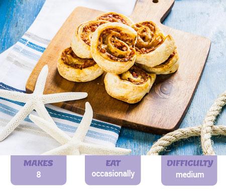 Easy Cheesy Scrolls Recipe