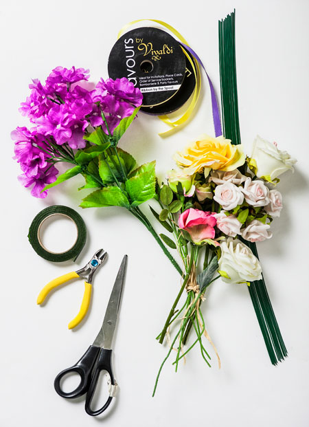 Floral Garland Materials