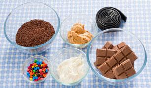 Halloween Truffles Recipe Ingredients