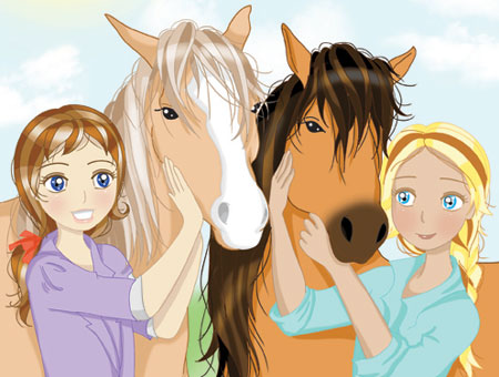 I hope there's horses at the shelter! Illustration: Anna Radcliffe