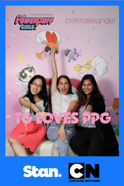 In the PPG x PA photo booth