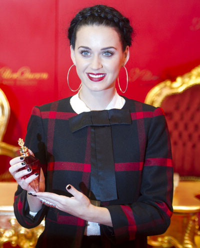 Katy Perry lauches her new scent! Photo: Getty Images