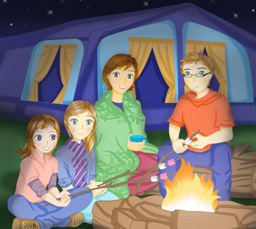 My family camping trip!