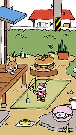 Neko Atsume cats