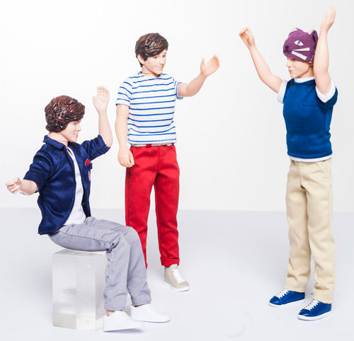 Niall has a great idea! The others aren't so keen...