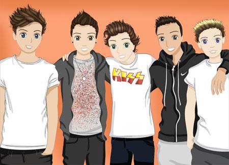 One Direction: my super secret concert!