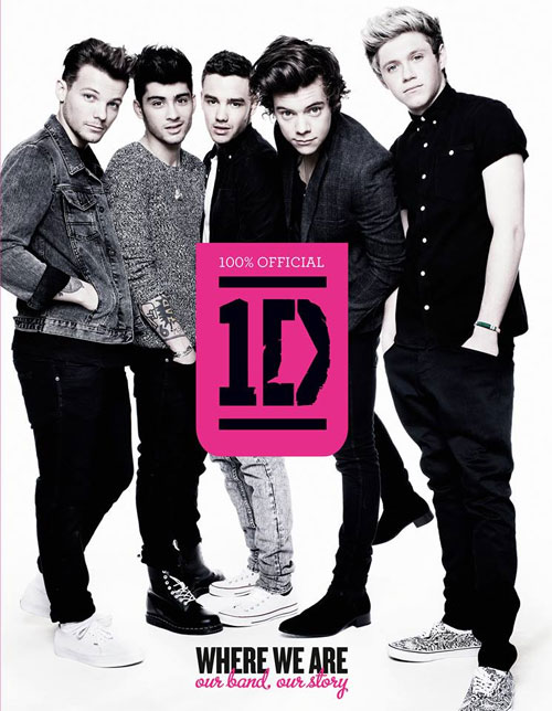 One Direction's book cover