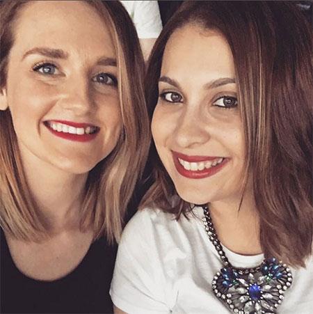 Pam and Maria at Taylor Swift