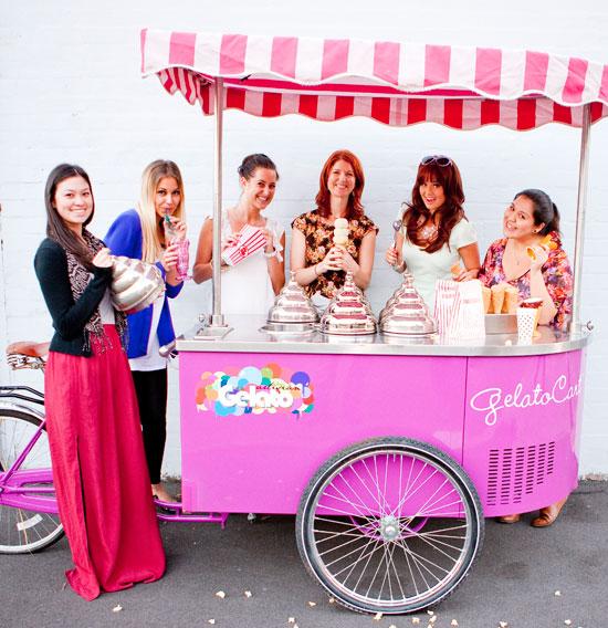 Photo: Debby Ryan and the Total Girl magazine team.