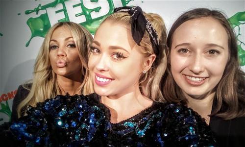 Samantha Jade, Jess and Erin