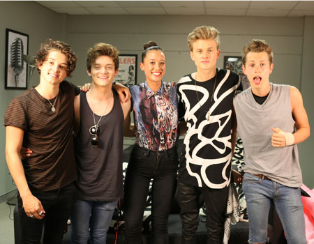 Teigan and the VAMPS