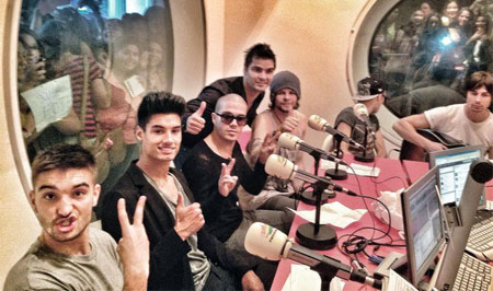 The Wanted: Radio Interview