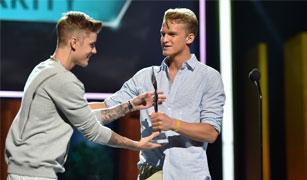 Biebs and Cody