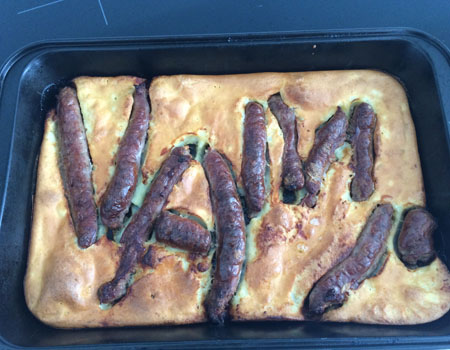 The VAMPS toad in a hole