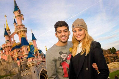 Zayn and Perrie's trip to Disneyland! Photo: Facebook