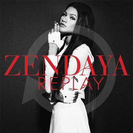 Zendaya - Replay. Photo: Facebook